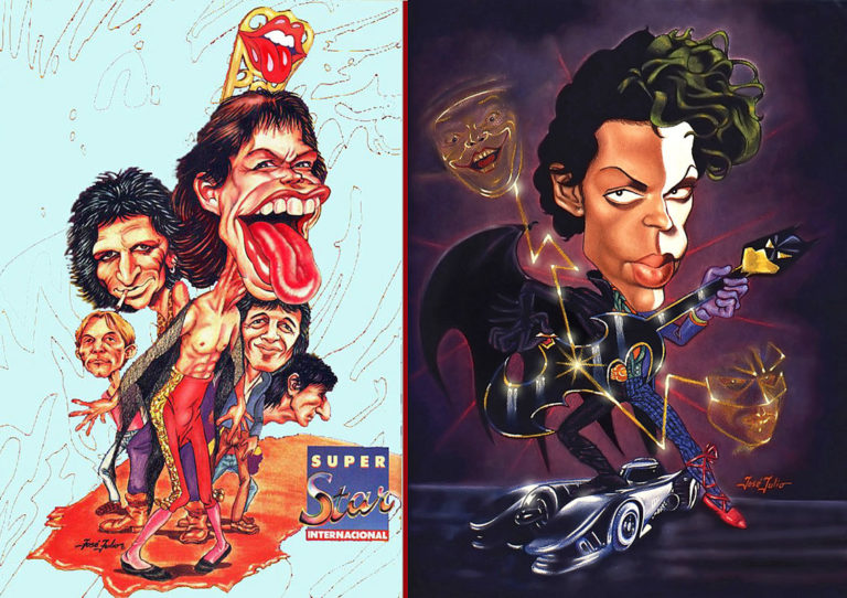 Caricat Posters Super Star-