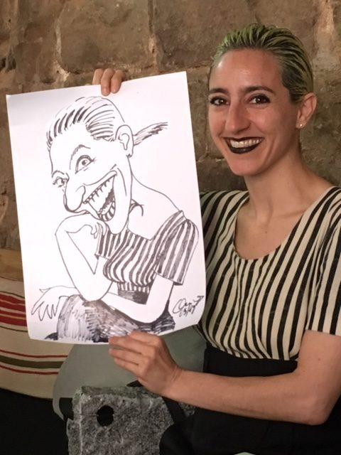 Caricatura rápida individual