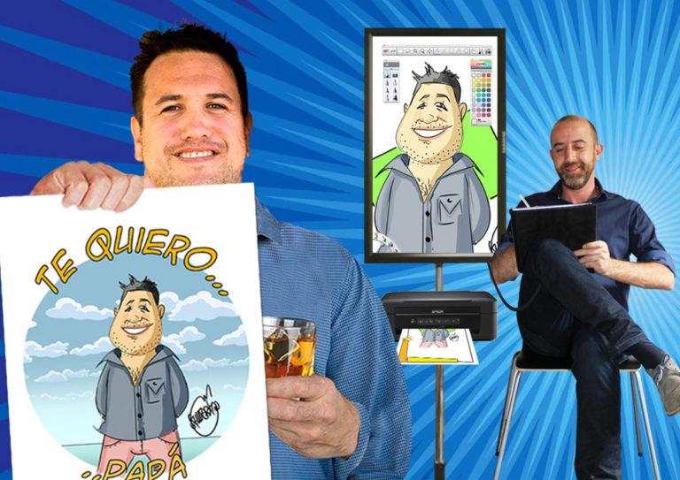Un caricaturista en tu evento madrid-FB