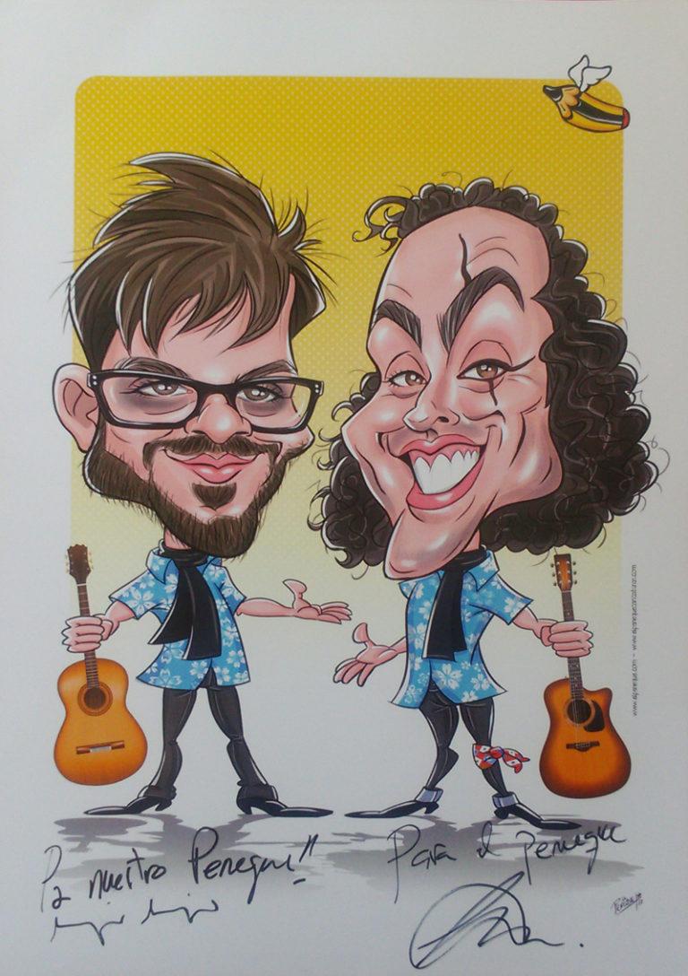 caricatura Antílopez digital