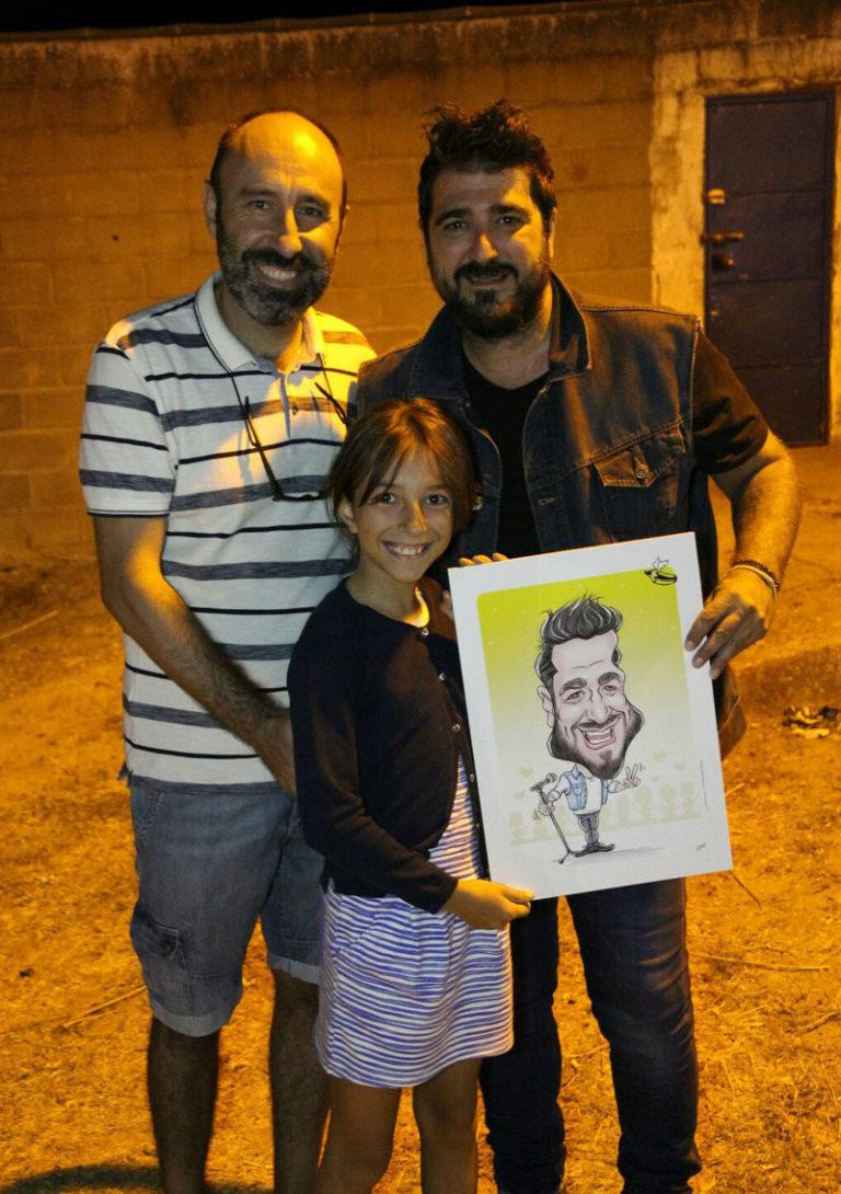 caricatura Antonio Orozco digital