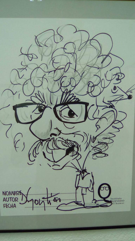 caricatura de Juanillo-