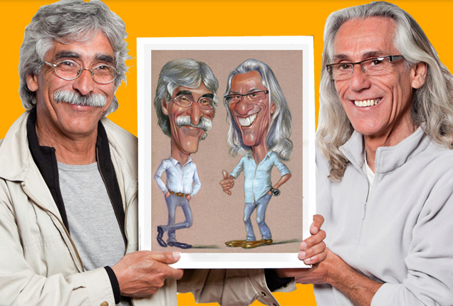 caricatura estudio color