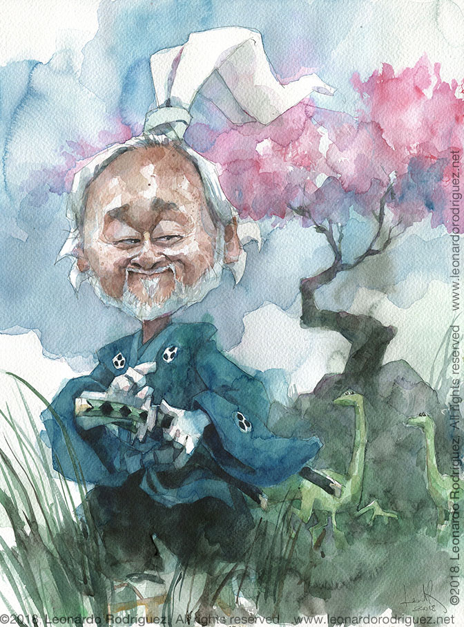 caricature-Stan-Sakai-Leonardo-Rodr°guez
